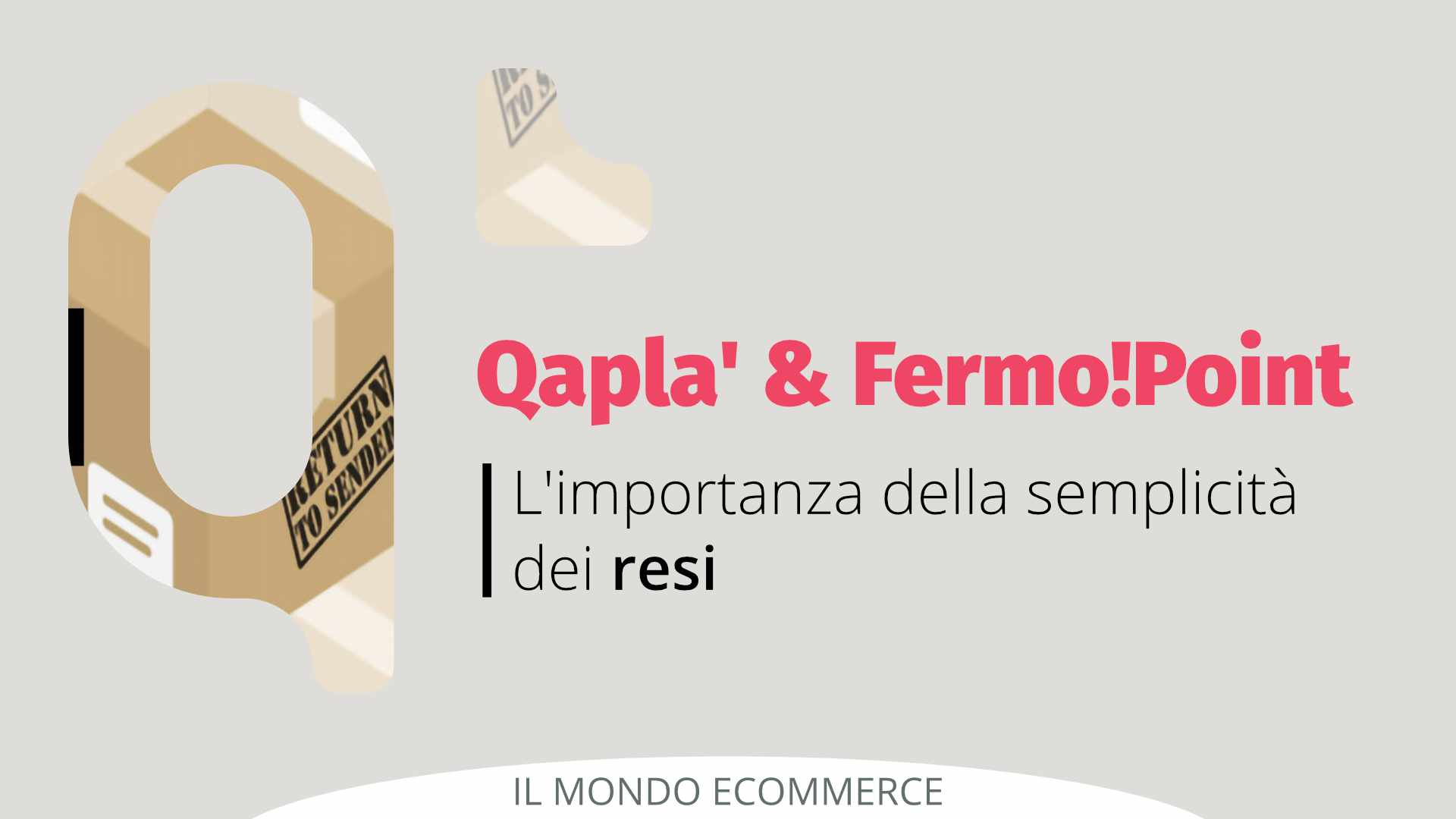 Importanza dei resi facili con Fermo!Point e Qapla'
