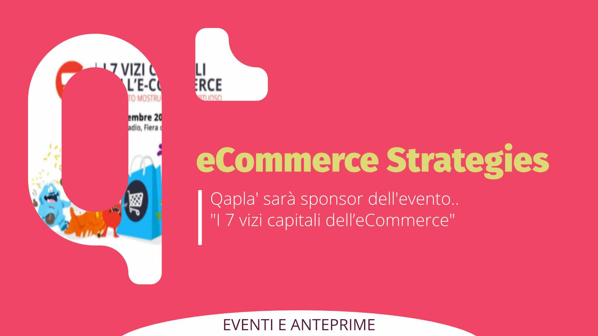 """Qapla' sponsor di """"eCommerce Strategies"""""""