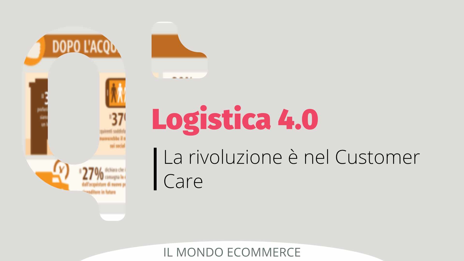 La rivoluzione della logistica 4.0 è nel Customer Care