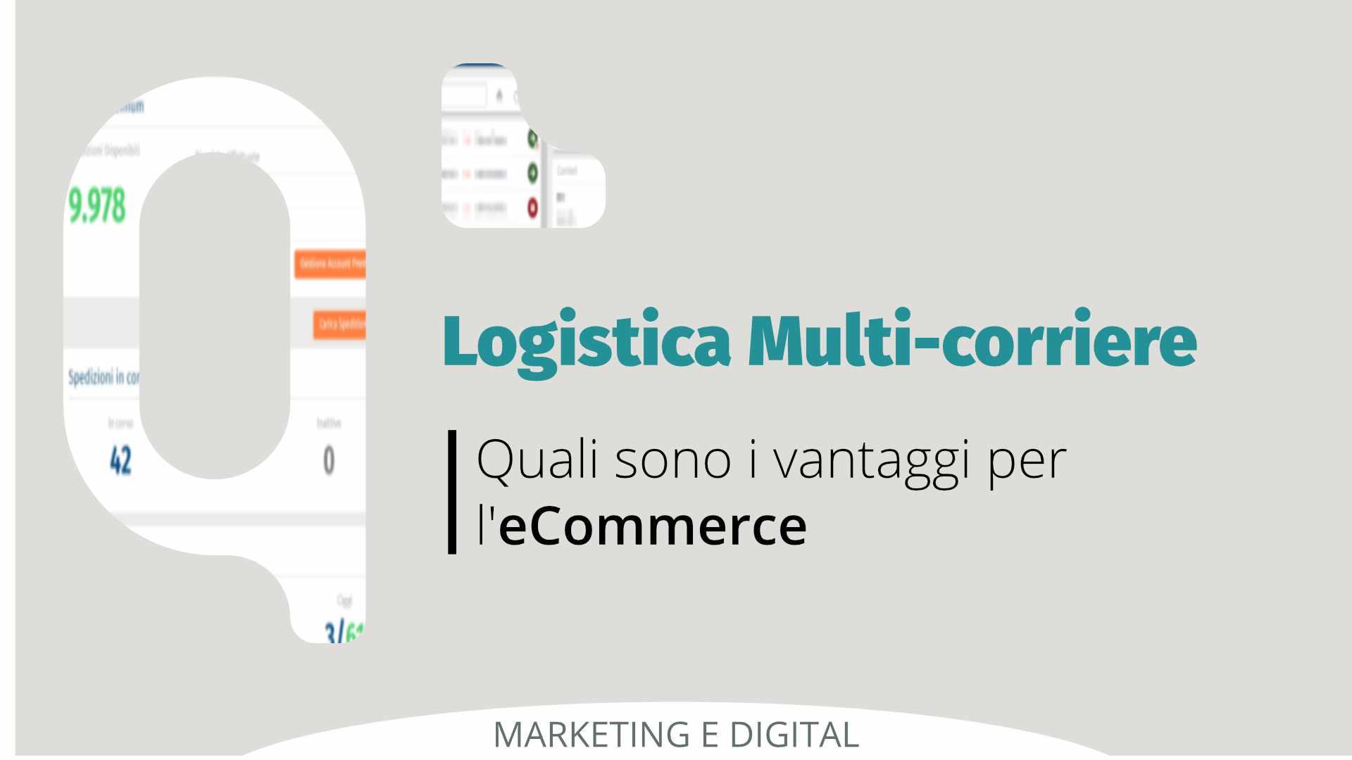 I vantaggi della logistica multicorriere per l'eCommerce