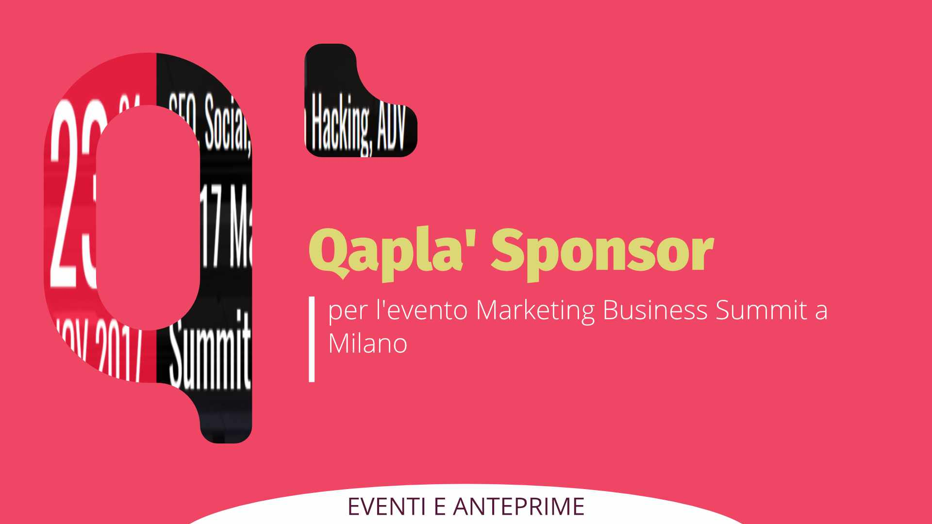 Qapla' sponsor di Marketing Business Summit a Milano #mbsummit