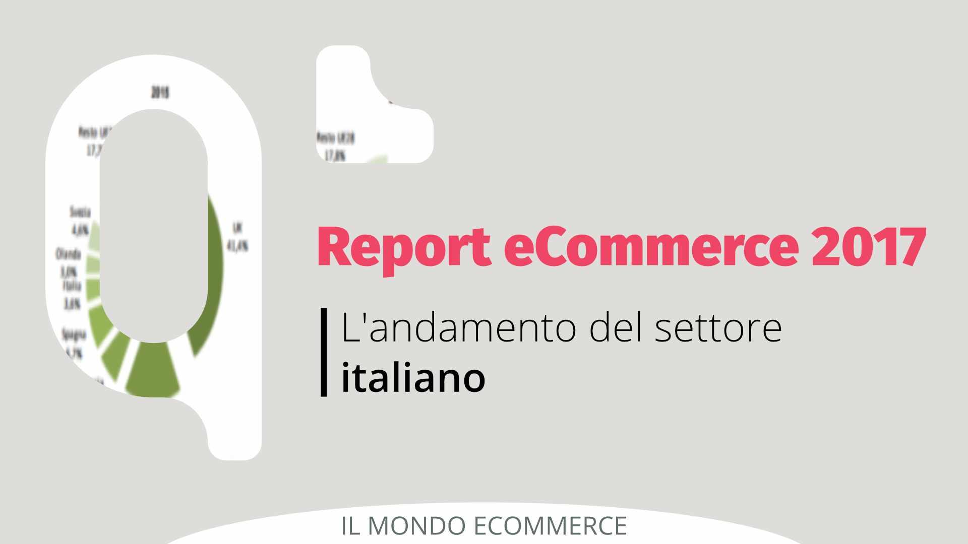 Report e-commerce 2017: l'andamento del settore italiano