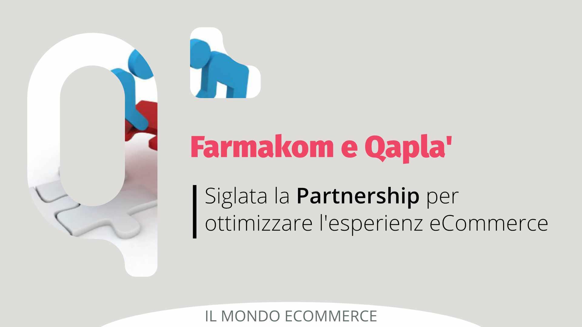 Siglata la Partnership tra Farmakom e Qapla'