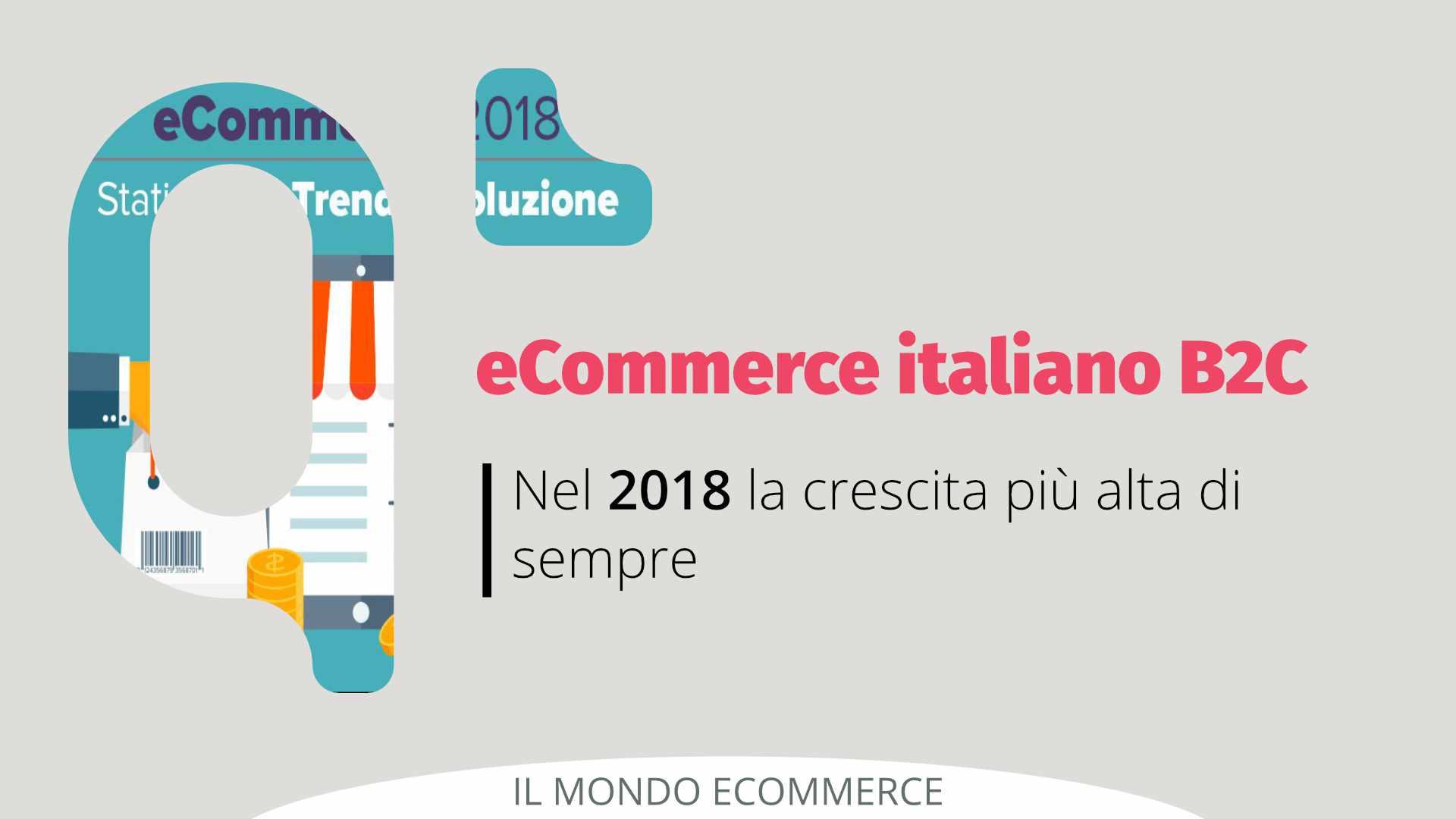eCommerce 2018 crescita