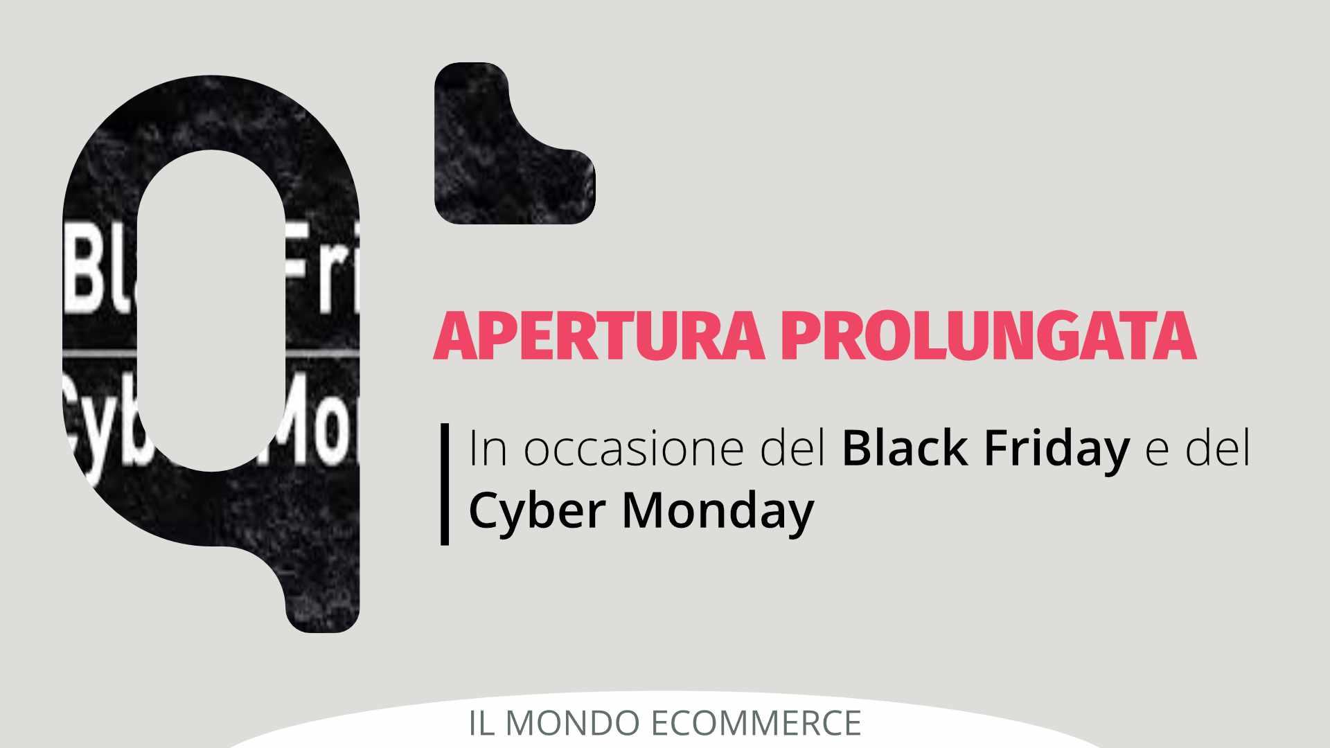 AVVISO: Apertura Prolungata Qapla' per Black Friday e Cyber Monday