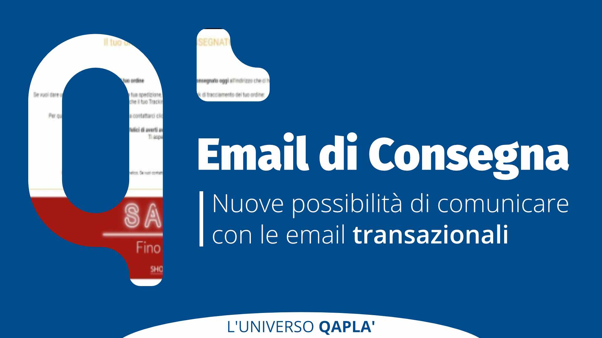 Email di Consegna: Nuove Possibilità