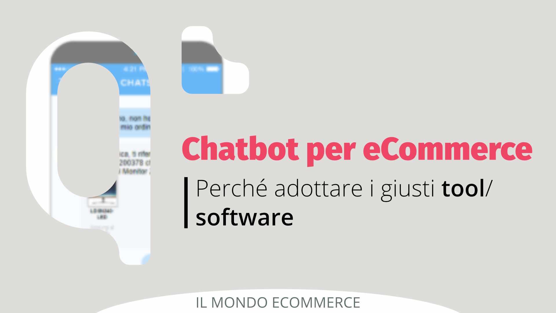 Chatbot per eCommerce: perché adottarli