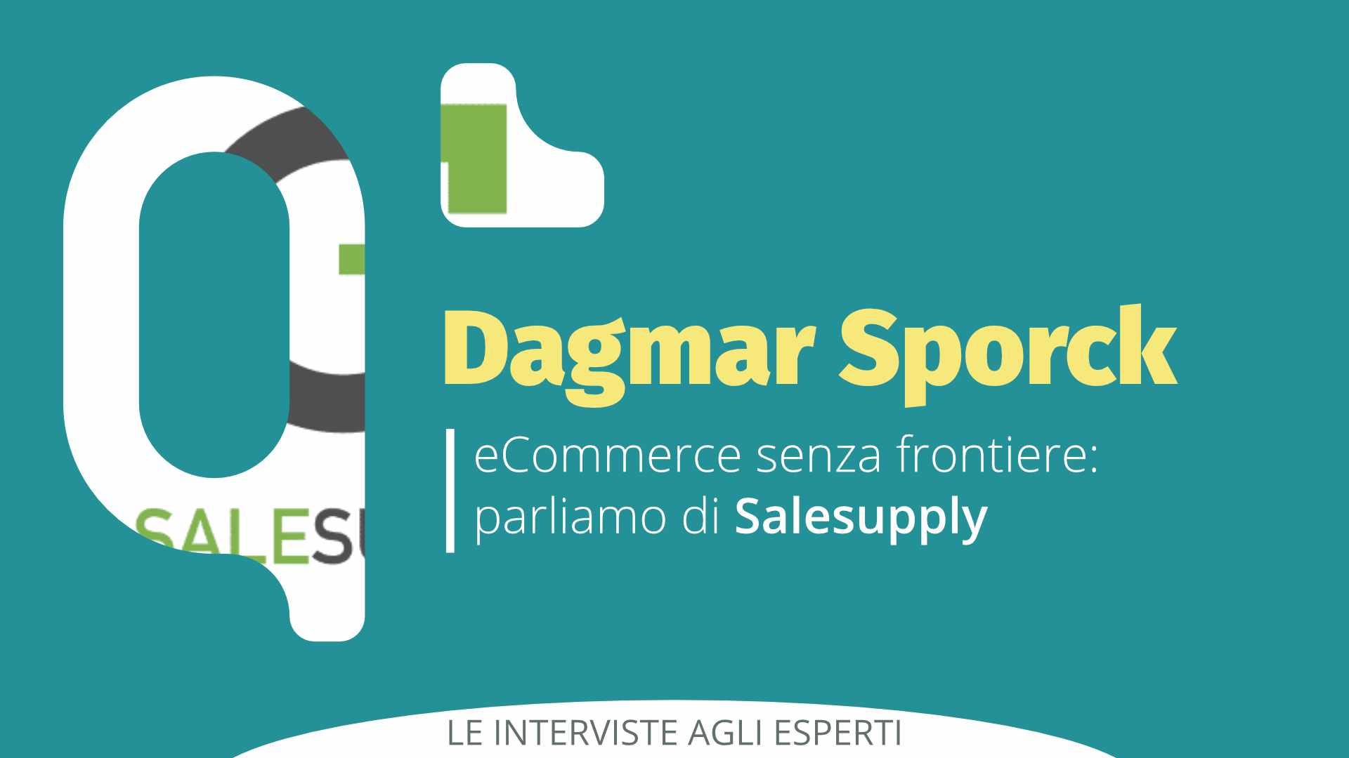 eCommerce senza frontiere: Intervista a Dagmar Sporck di Salesupply