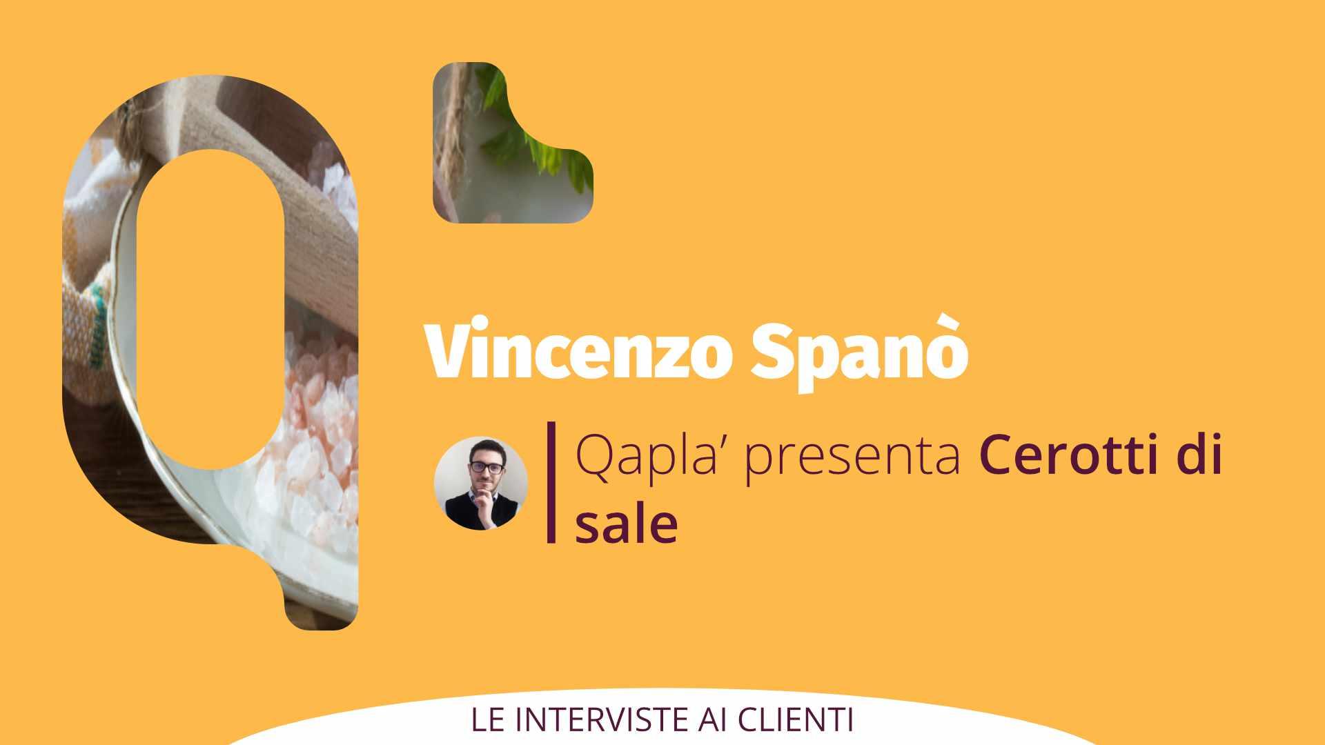 Qapla' presenta Cerotti di Sale: Intervista a Vincenzo Spanò