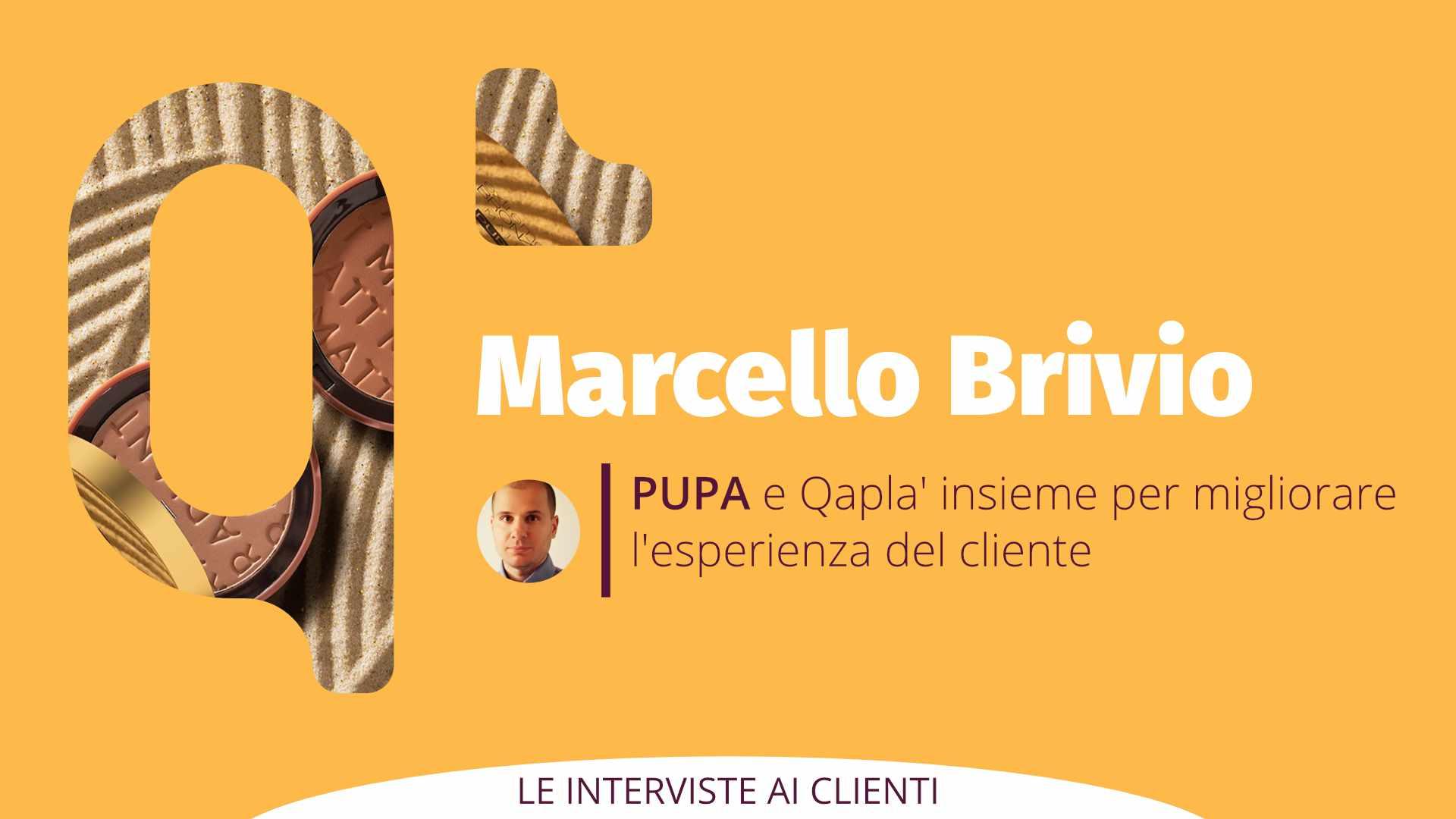 Qapla' presenta PUPA Milano: Intervista a Marcello Brivio