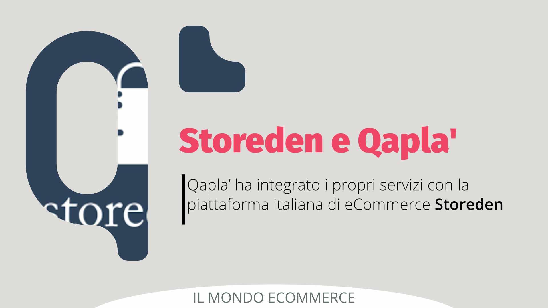 Storeden e Qapla' partner per un miglior servizio di vendita online per aziende e buyer