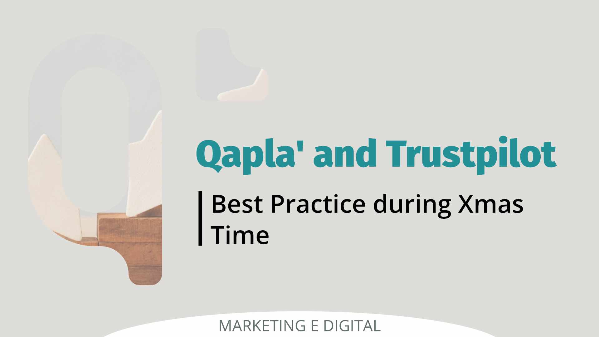 Qapla' and Verified Reviews Best Practice during Xmas Time