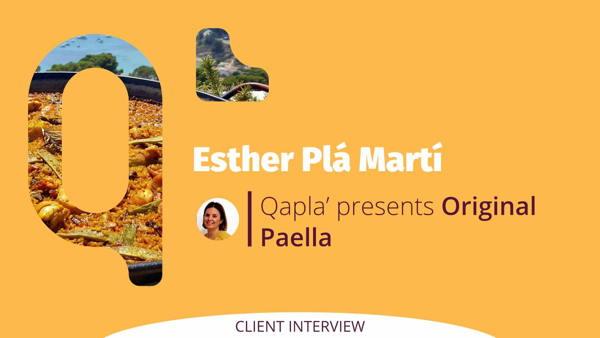 Qapla' presents Original Paella: Interview to Esther Plá Martí