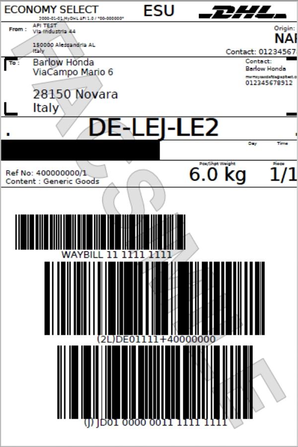 Etiqueta Zebra