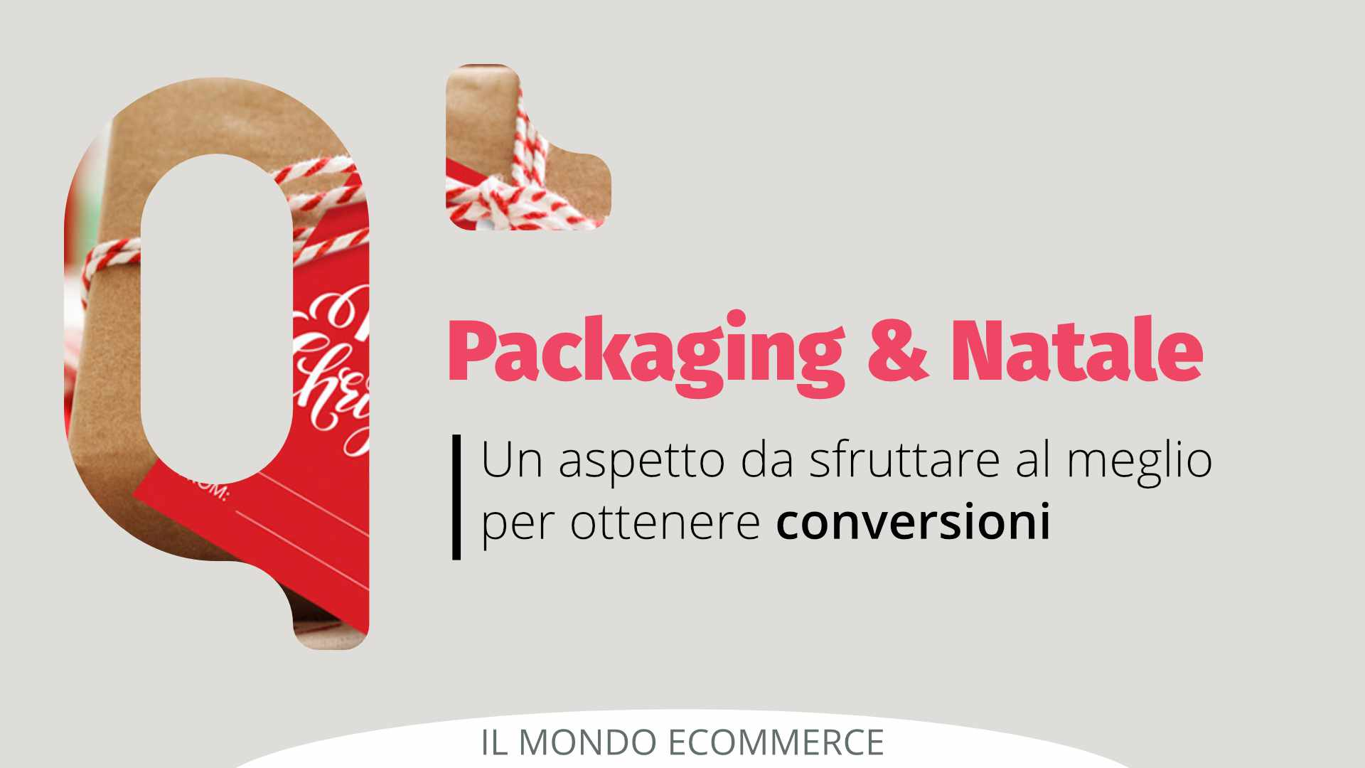 eCommerce packaging a Natale