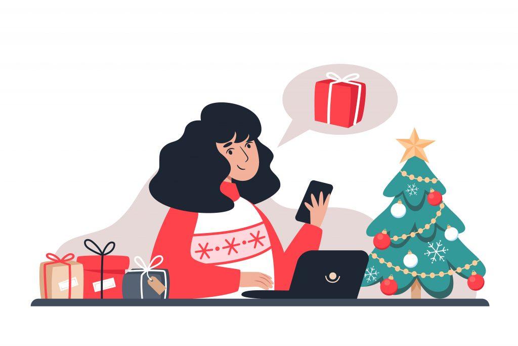 shopping online, creare un eCommerce, trend natale 2020