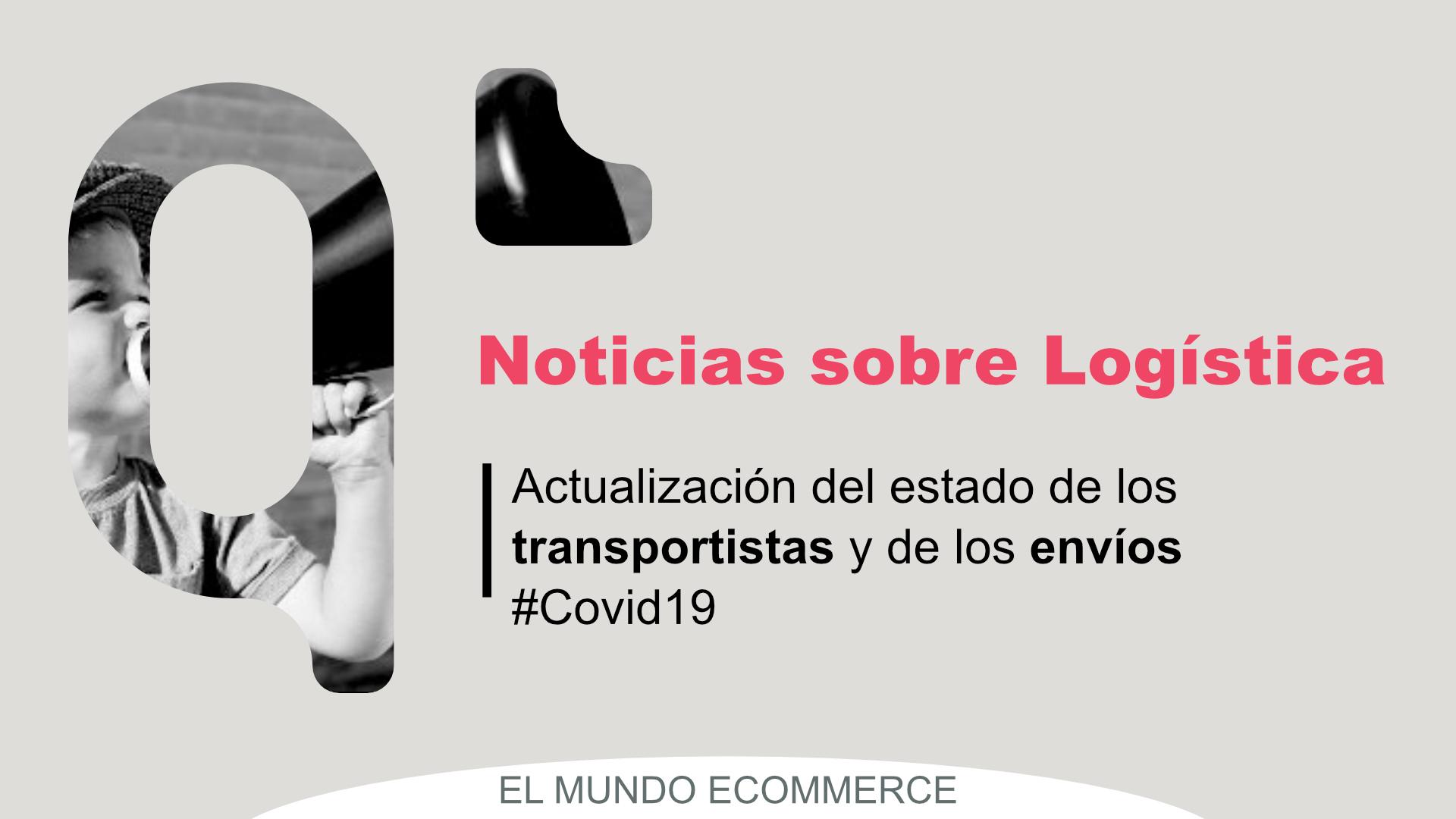Actualización Logistica Covid
