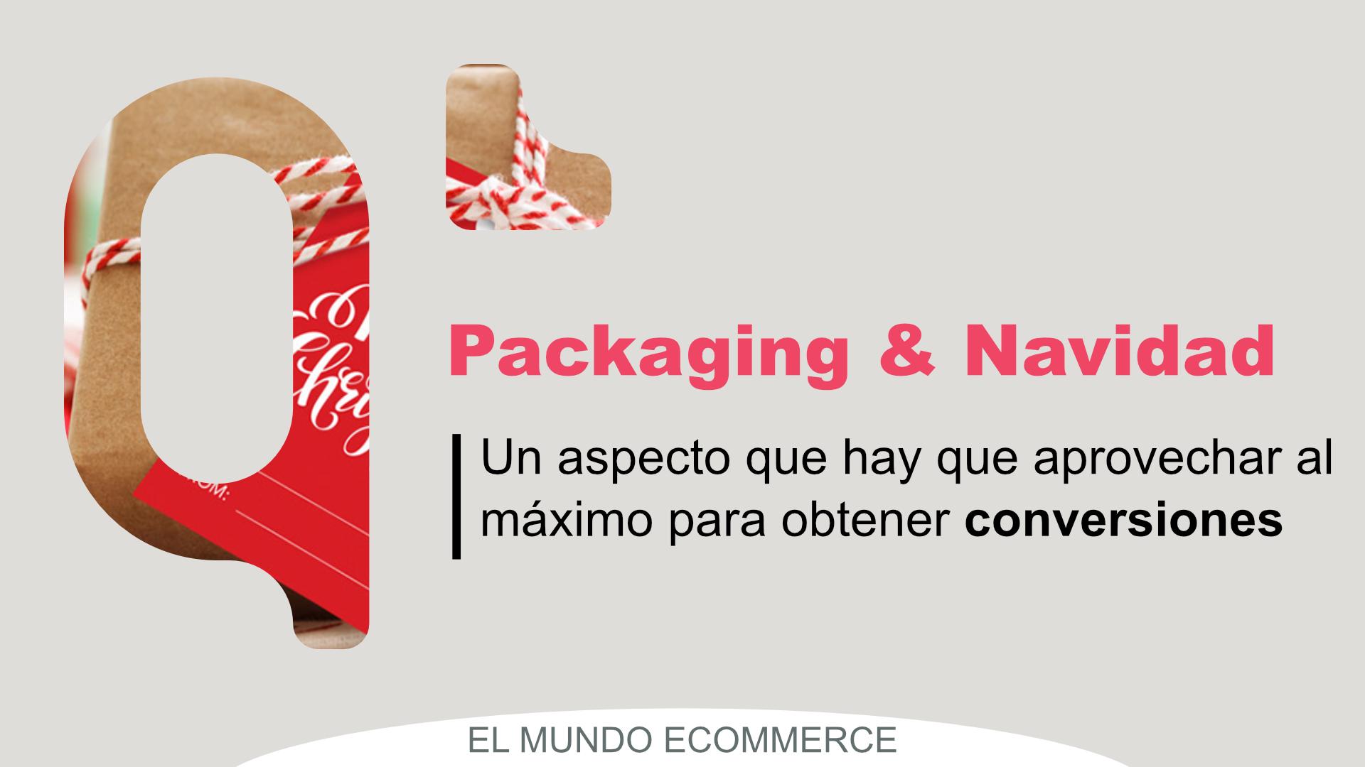 Packaging eCommerce Navidad