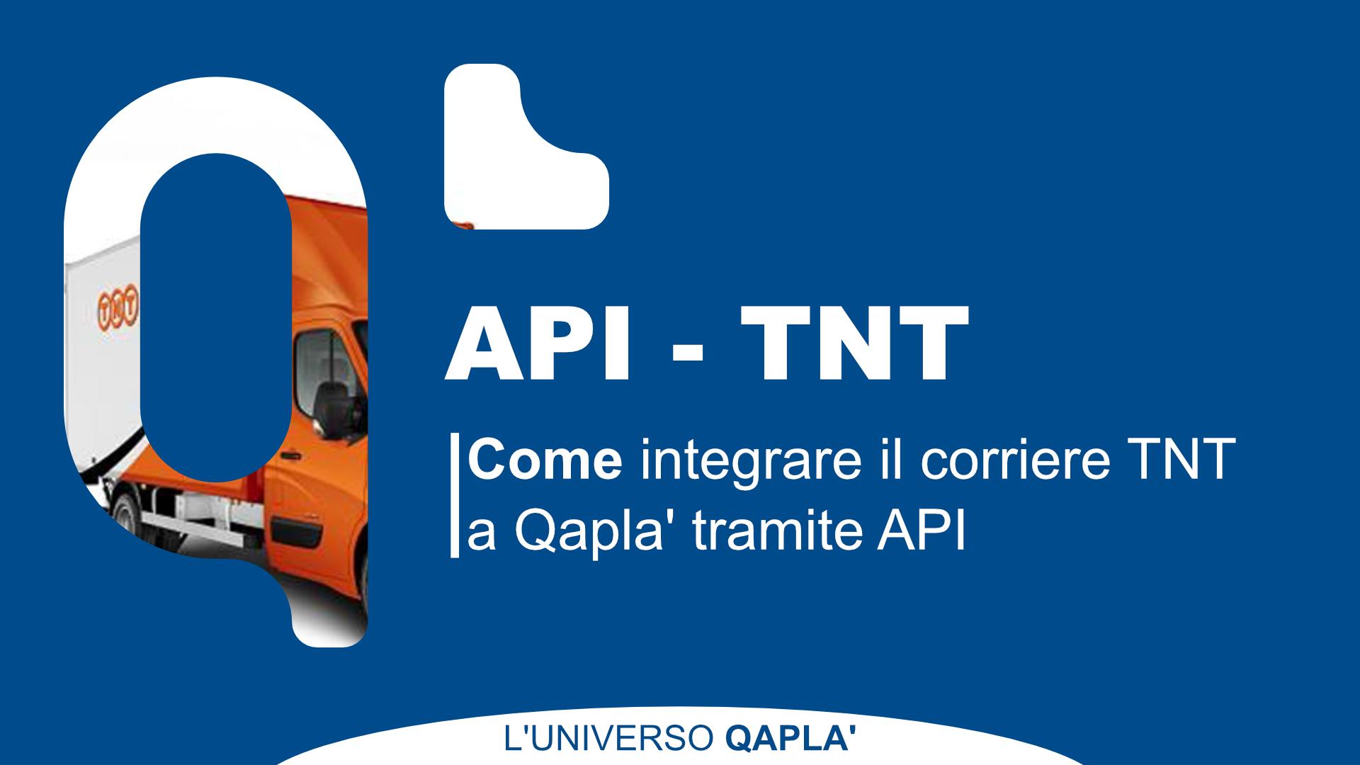 API per integrare TNT su Qapla'