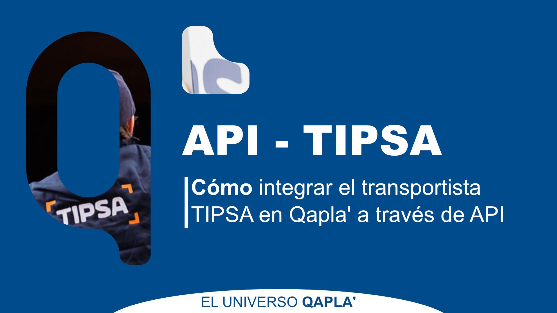 Integración API Tipsa