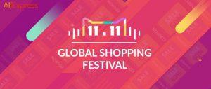 11.11 global shopping festival aliexpress