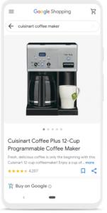 cuisinart-coffee-google-shopping
