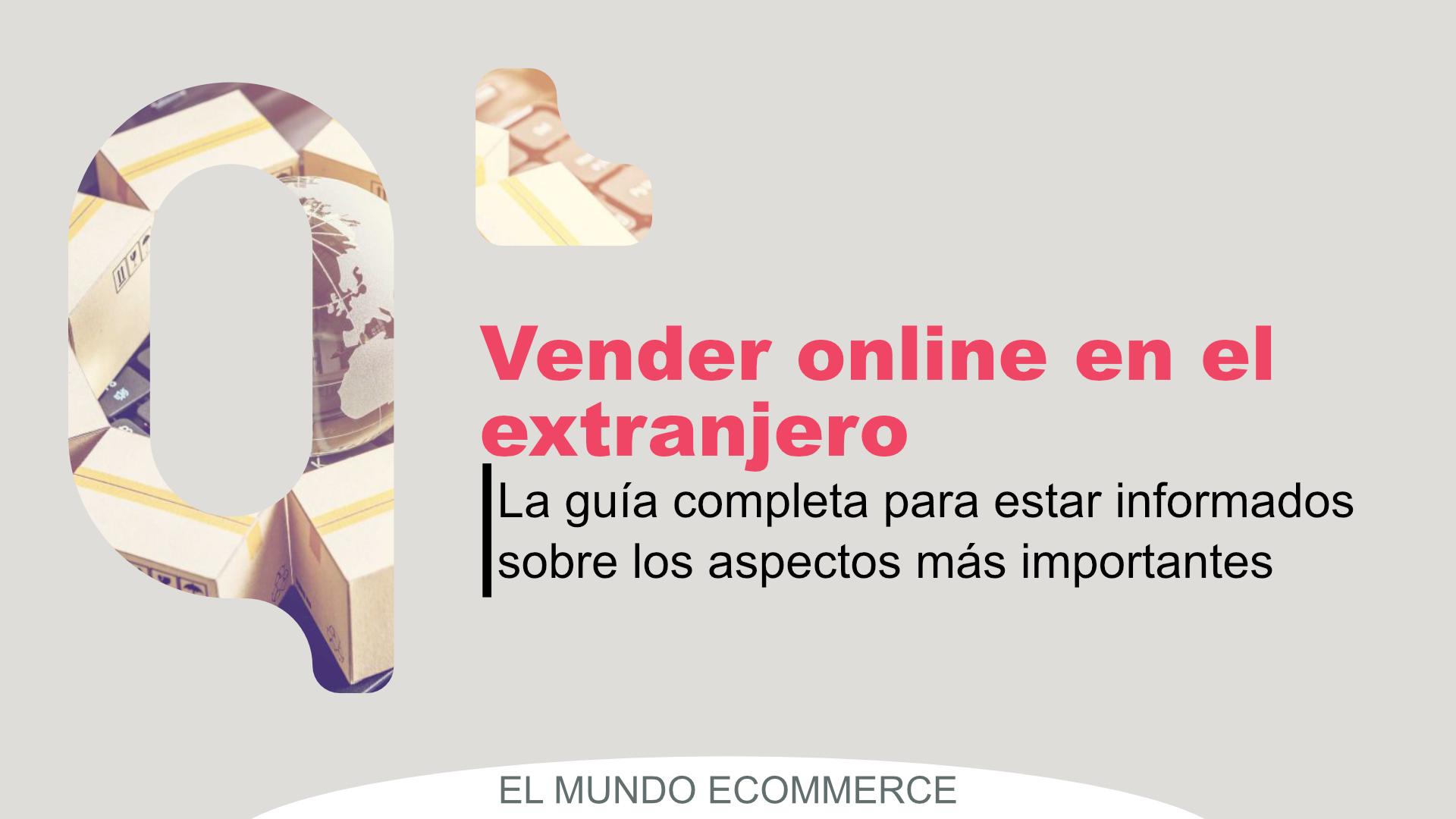 vender online en el extranjero